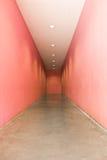 inre pink för korridor Royaltyfri Bild