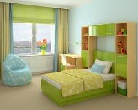 inre playroom Royaltyfri Illustrationer