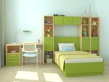 inre playroom Vektor Illustrationer