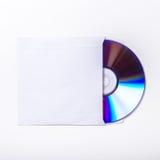 Inre räkning för CD eller för DVD Royaltyfria Foton