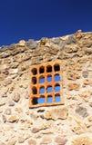 inre renovera vägg för detaljhus Arkivbilder