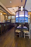 inre restaurang Arkivbild