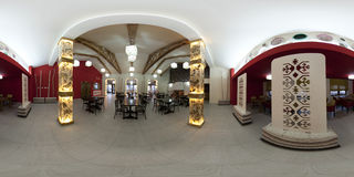 inre restaurang Royaltyfri Bild