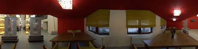 inre restaurang Royaltyfri Fotografi