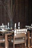 inre restaurang Royaltyfria Foton