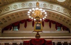 Inre rum av Kapitolium som bygger Washington, D C , USA Royaltyfria Bilder