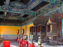 Inre rum i orientalisk stil Arkivfoto