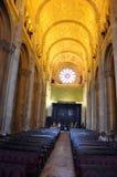 Inre San Antonio Church royaltyfria foton