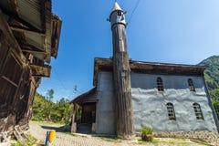 Inre sikt av Artin, Macahel, Camili Camii (moskén) Royaltyfria Foton