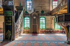 Inre sikt av Artin, Macahel, Camili Camii (moskén) Royaltyfria Bilder