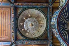 Inre sikt av Artin, Macahel, Camili Camii (moskén) Royaltyfri Foto