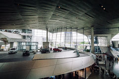 Inre sikt av BMW bården i Munich Royaltyfri Bild