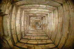 Inre sikt av den Kidal templet Royaltyfri Fotografi