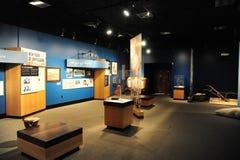 Inre sikt av det kulturella museet för delta, Helena Arkansas royaltyfria bilder