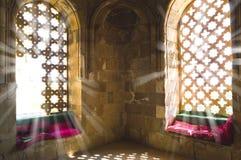 Inre sikt av Diri Baba Mausoleum royaltyfria bilder