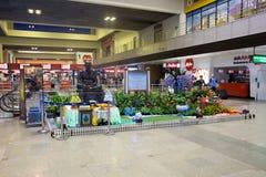 Inre sikt av Don Mueang International Airport Royaltyfri Bild