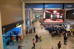 Inre sikt av Don Mueang International Airport Arkivfoton