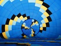 Inre sikt av en baloon Royaltyfri Foto