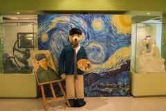 Inre skott av Teddy Bear Museum Jeju royaltyfri bild