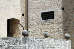 Inre slott Arkivfoto
