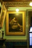 Inre slott av Mohammed Ali - Kairo Arkivfoton