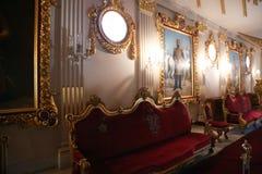 Inre slott av Mohammed Ali - Kairo Royaltyfria Foton