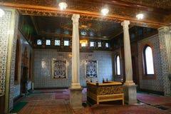 Inre slott av Mohammed Ali - Kairo Arkivfoto