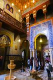 Inre slott av Mohammed Ali - Kairo Arkivbilder