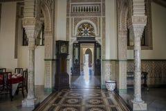 Inre slott de Valle, Cienfuegos, Kuba Arkivbild