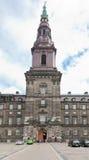 inre slott för christiansborgdomstol Fotografering för Bildbyråer