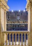 Inre slott för doge` s, Venedig - Italien Royaltyfri Bild