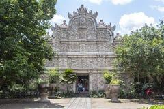 Inre slott för Taman sarivatten i Yogyakarta Arkivbild