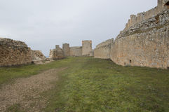 Inre slott Gormaz Arkivbild