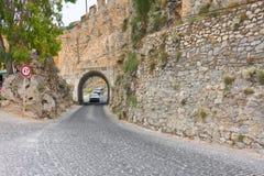Inre slott (Ic-grönkål), Alanya, Turkiet Royaltyfria Bilder
