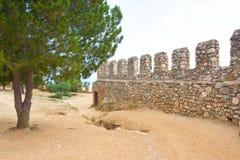 Inre slott (Ic-grönkål), Alanya, Turkiet Fotografering för Bildbyråer