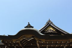 Inre slott Ise Jingu Shrine Japan Royaltyfri Bild
