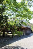 Inre slott Ise Jingu Shrine Japan Arkivbilder