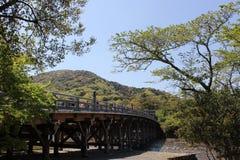 Inre slott Ise Jingu Shrine Japan Fotografering för Bildbyråer