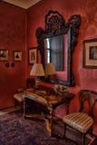 Inre slotttjeck Sternberg royaltyfria bilder