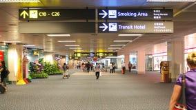 inre soligt för flygplatsdag Royaltyfri Foto
