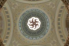 Inre som skjutas av en kupol Arkivbilder