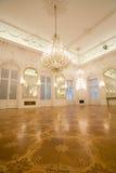 inre spegellokal för slott Royaltyfri Foto