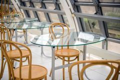Inre stångkafeteria arkivfoto