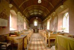 Inre St Mary ` s kyrkliga västra Somerton Royaltyfri Foto