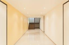 Inre stor korridor Royaltyfri Fotografi