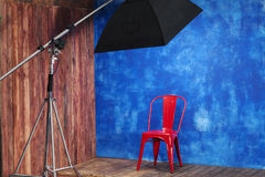 Inre studio Fotografering för Bildbyråer