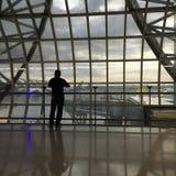 Inre Suvarnabhumi flygplats Bangkok Fotografering för Bildbyråer