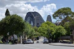 Inre Sydney Street Fotografering för Bildbyråer