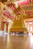 inre tempel för laos luangprabang Arkivbilder