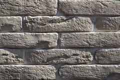 Inre textur för bakgrund för abstrakt begrepp för stil för tappning för tegelstenvägg ton blekt Arkivfoto